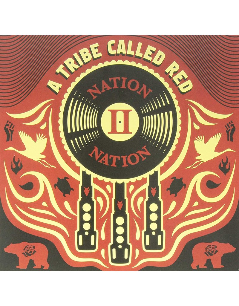 EL A Tribe Called Red ‎– Nation II Nation LP