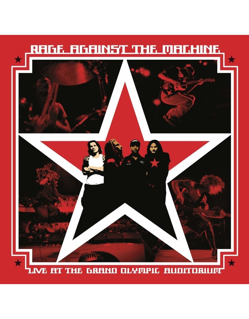RK Rage Against The Machine – Live At The Grand Olympic Auditorium 2LP
