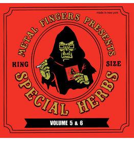 "HH MF DOOM - Special Herbs Volumes 5 & 6 (2LP + Bonus 7"")"