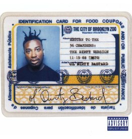 HH Ol' Dirty Bastard ‎– Return To The 36 Chambers: The Dirty Version 2LP