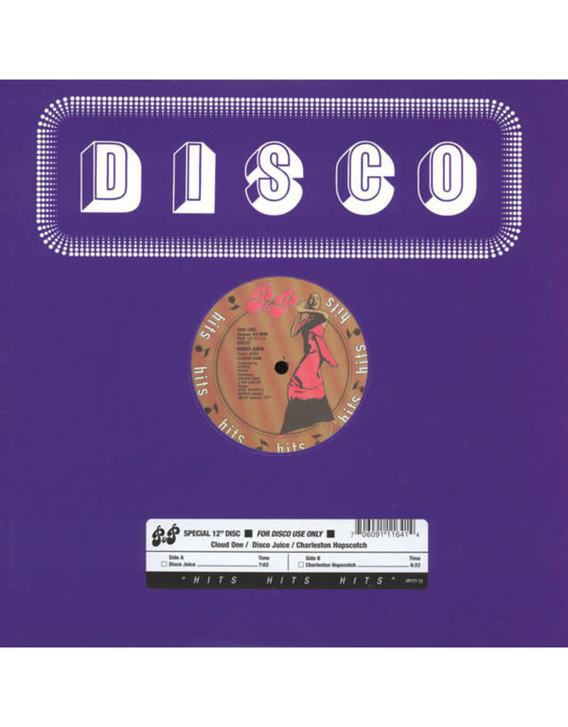 DC Cloud One ‎– Disco Juice / Charleston Hopscotch 12""