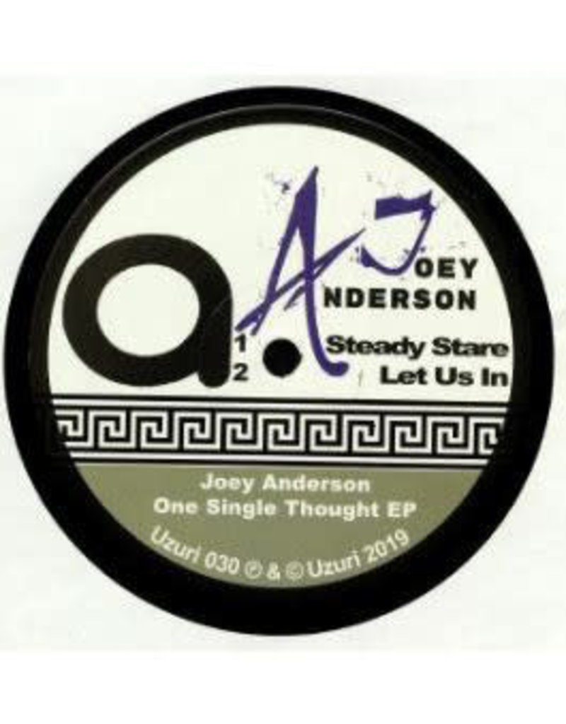 """Joey Anderson – One Single Thought 12"""""""