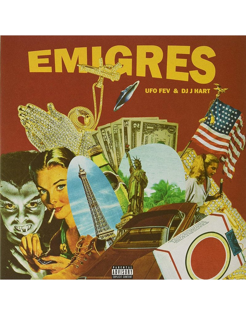 UFO FEV & DJ J. Hart – Emigres LP