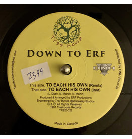 Down To Erf - To Each His Own 7""