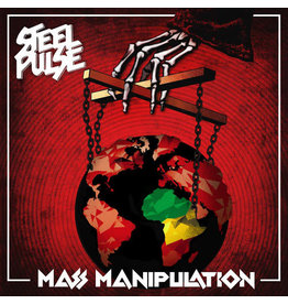 Steel Pulse ‎– Mass Manipulation LP