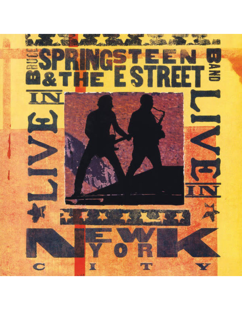 Bruce Springsteen - Live In New York City 3LP