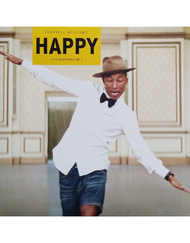 PO Pharrell Williams - Happy (from Despicable Me 2)
