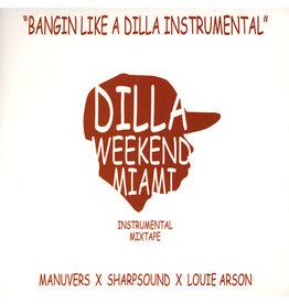 HH J Dilla – Bangin' Like A Dilla Instrumental 2LP
