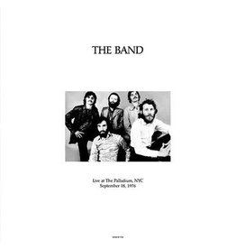 The Band ‎– Live At The Palladium, NYC September 18, 1976 2LP