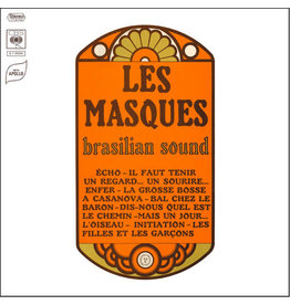 Les Masques ‎– Brasilian Sound LP, 2019 Reissue