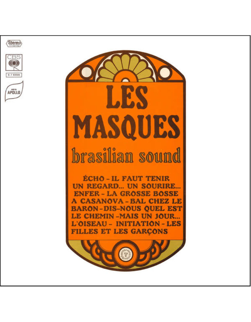 Les Masques ‎– Brasilian Sound LP
