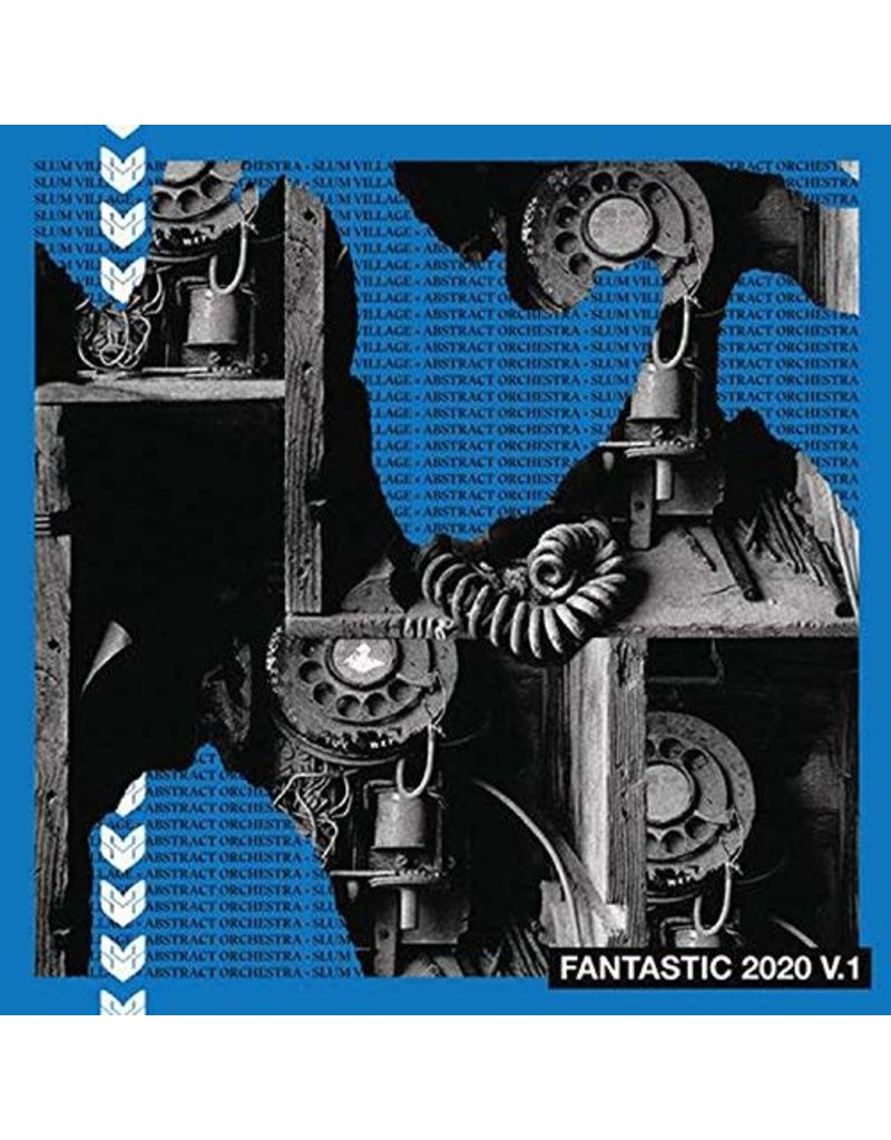 Abstract Orchestra – Fantastic 2020 V.1 (Blue Vinyl) LP