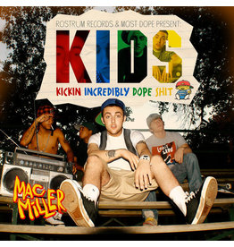 HH Mac Miller ‎– K.I.D.S. (Kickin Incredibly Dope Shit) 2LP