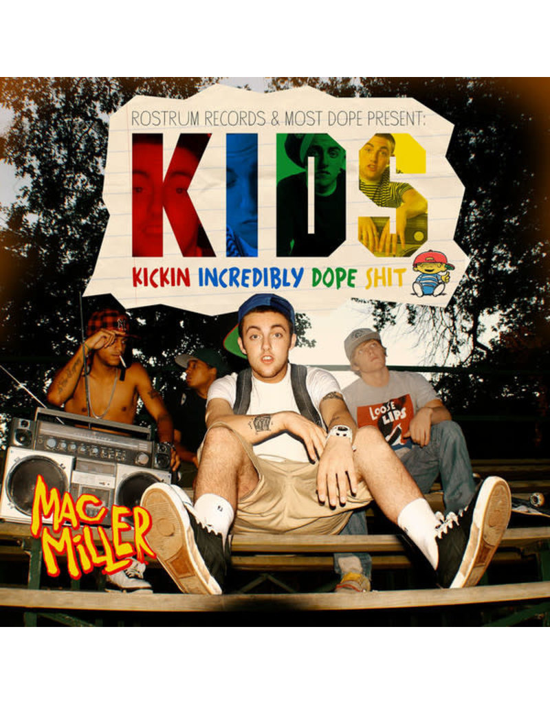 HH Mac Miller – K.I.D.S. (Kickin Incredibly Dope Shit) 2LP