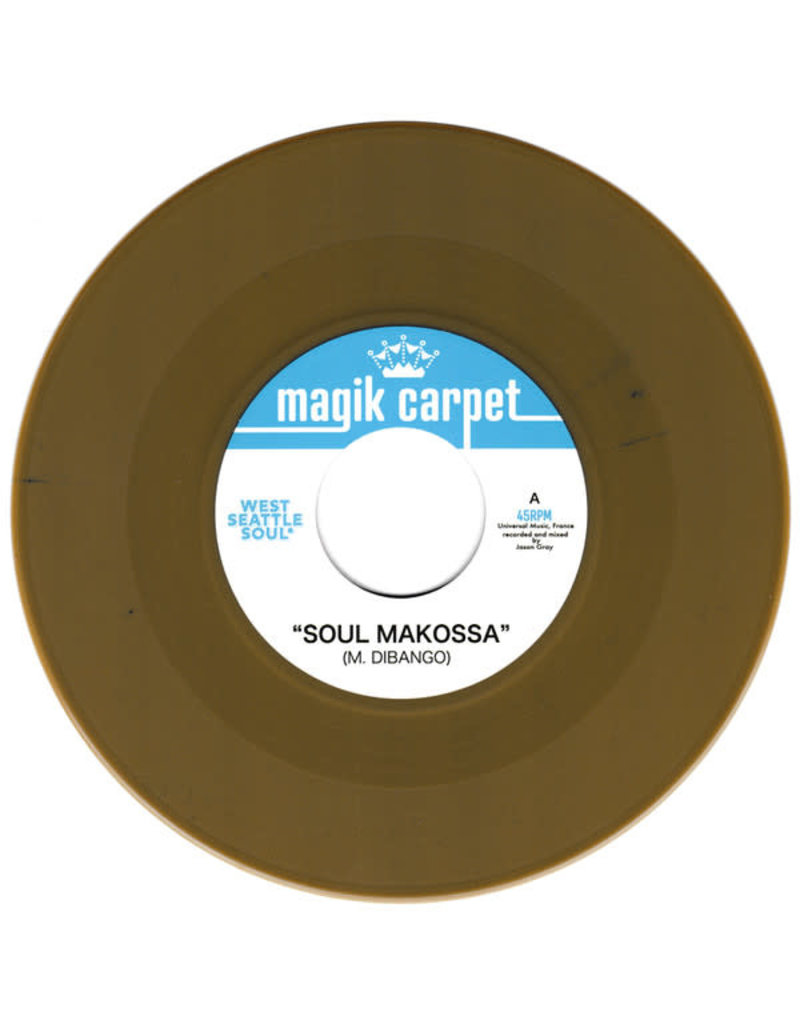 West Seattle Soul/The Pulsations - Soul Makossa/Black River Crisis 7""
