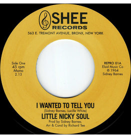 """Little Nicky Soul – I Wanted To Tell You / You Said 7"""""""