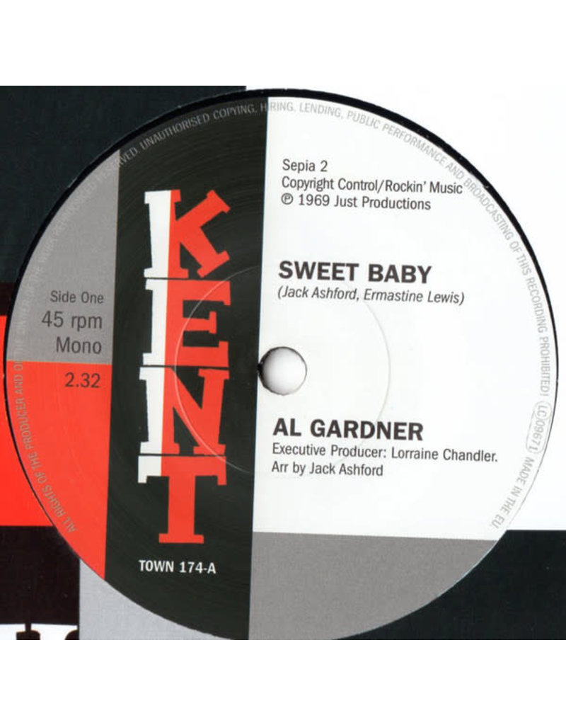 """Al Gardner / Jack Ashford – Sweet Baby / I'll Fly To Your Open Arms 7"""""""
