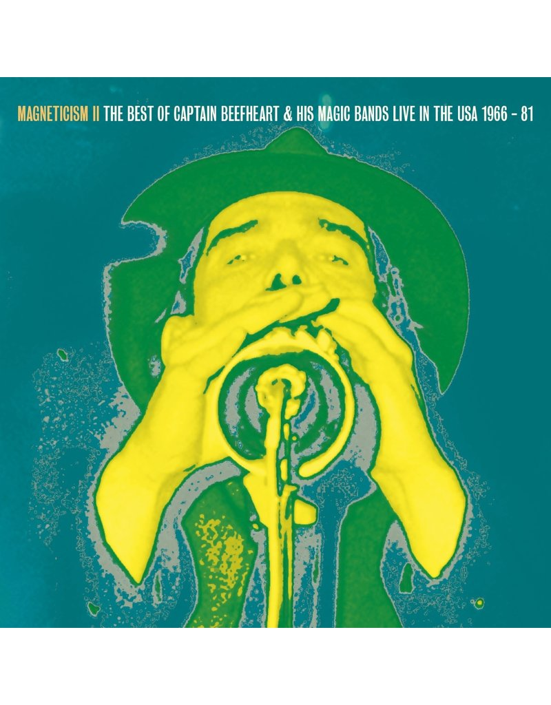 Captain Beefheart & His Magic - Magneticism II: The Best of Captain Beefheart & His Magic Bands Live in the USA 1966-81 LP