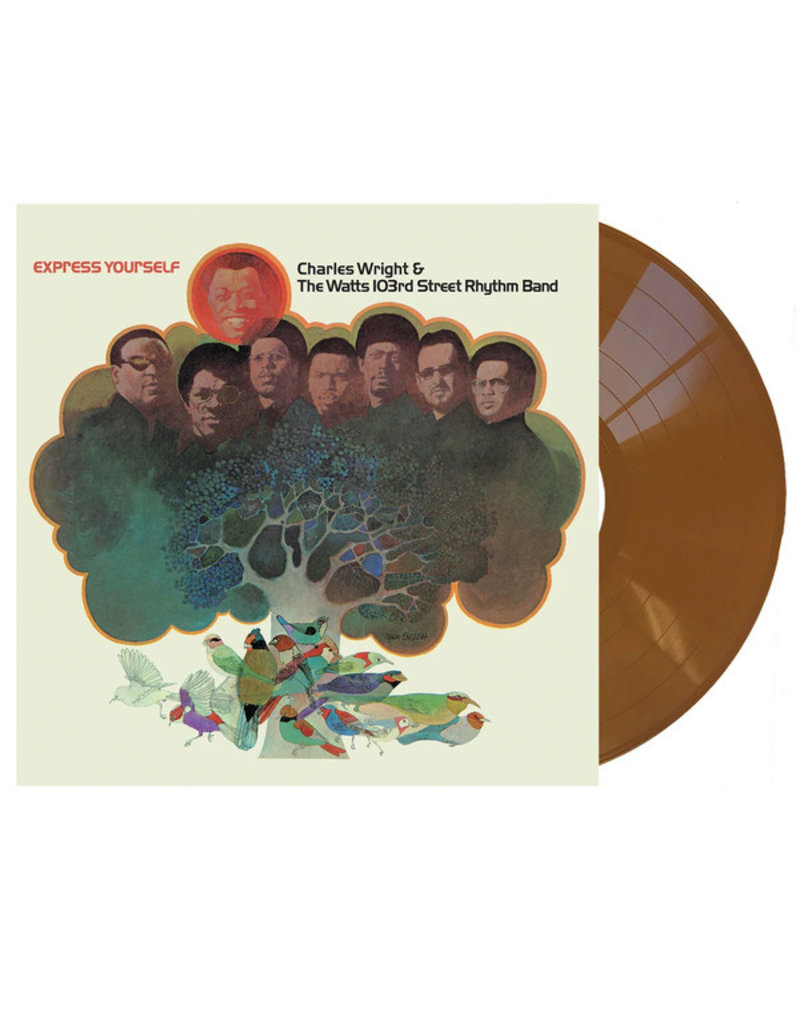 Charles Wright & The Watts 103rd Street Rhythm Band - Express Yourself LP (Brown vinyl)