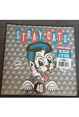 Stray Cats - 40 LP (Blue vinyl with pink splatter)