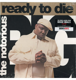 The Notorious B.I.G. - Ready To Die 2LP (Reissue)