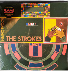 The Strokes - Room on Fire LP (Orange/ Red Translucent Flame Vinyl)