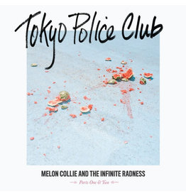 RK Tokyo Police Club ‎– Melon Collie And The Infinite Radness (Parts One & Two) LP