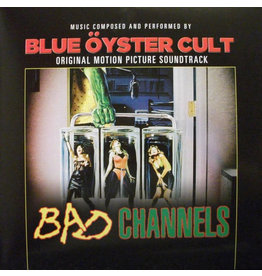 RK Blue Öyster Cult ‎– Bad Channels - Original Motion Picture Soundtrack LP