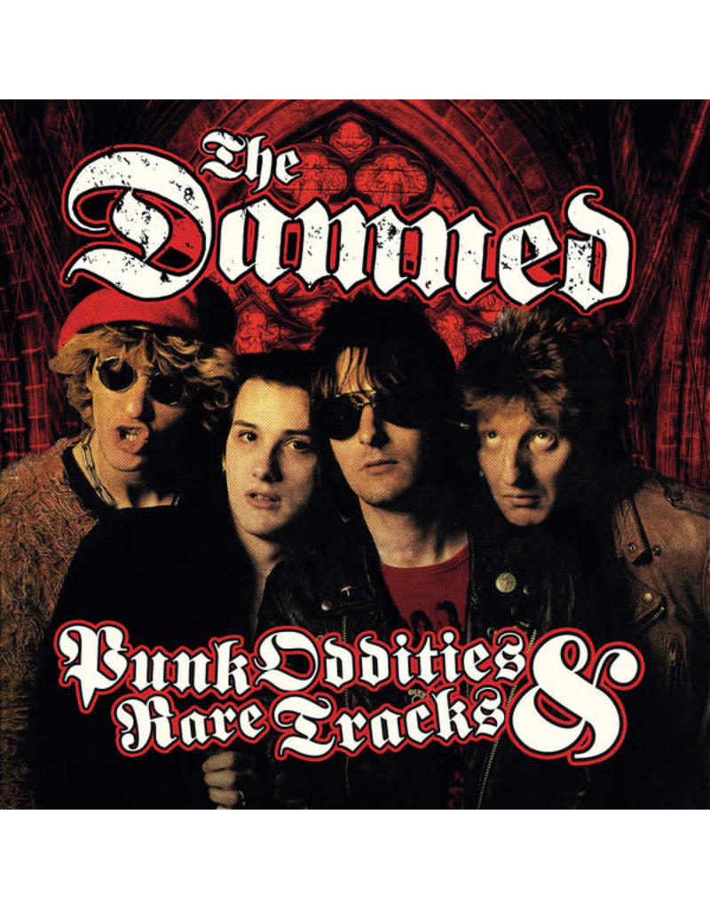 RK The Damned ‎– Punk Oddities & Rare Tracks 2LP