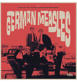 FS Various ‎– German Measles Volume 1 - Flames Of Love: '60s Beat, Garage & R&B From Germany LP