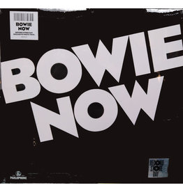 RK David Bowie ‎– Bowie Now LP (2018 Reissue Compilation), White Vinyl