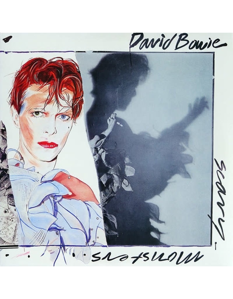 RK David Bowie – Scary Monsters LP