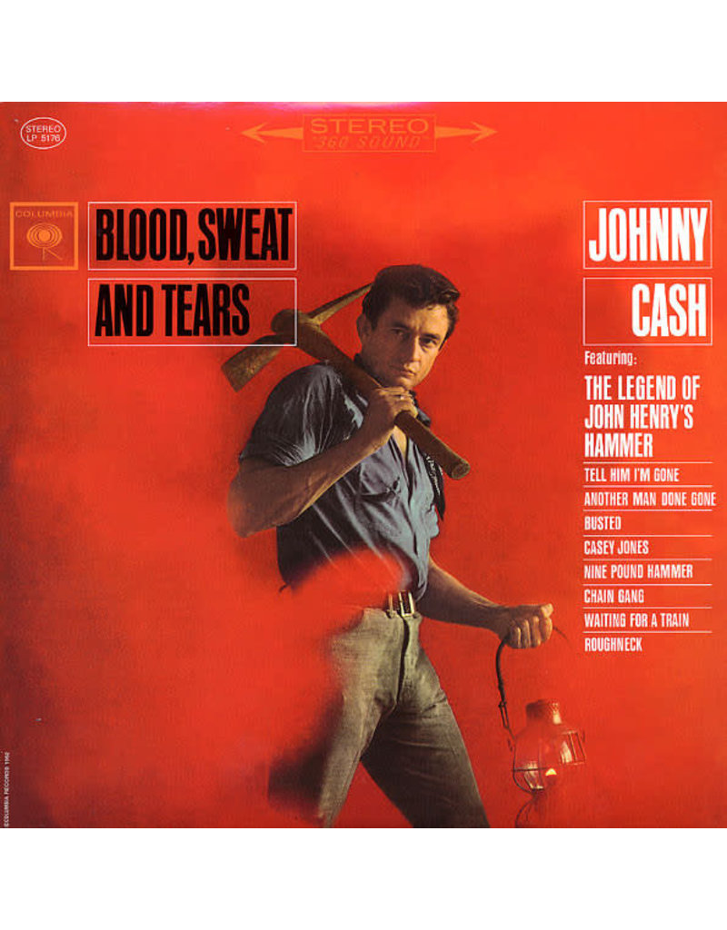 RK Johnny Cash – Blood, Sweat And Tears LP