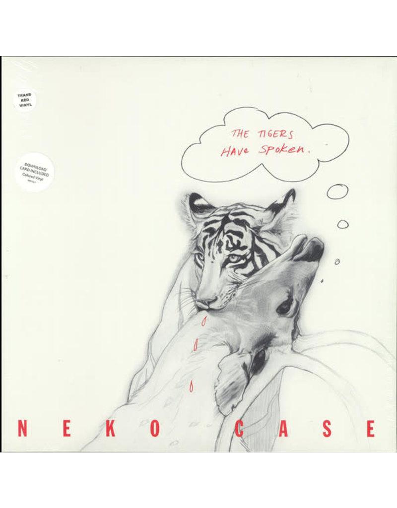 RK Neko Case – The Tigers Have Spoken LP (2016 Reissue) Red Translucent