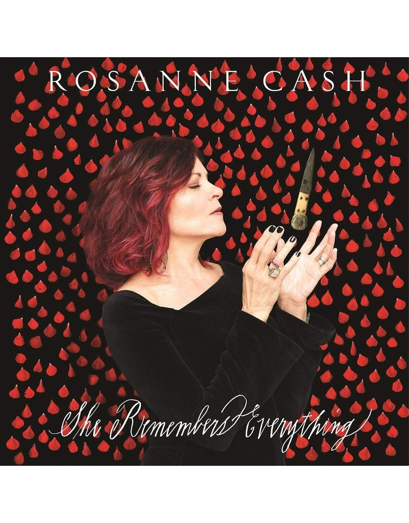 CT Rosanne Cash ‎– She Remembers Everything LP