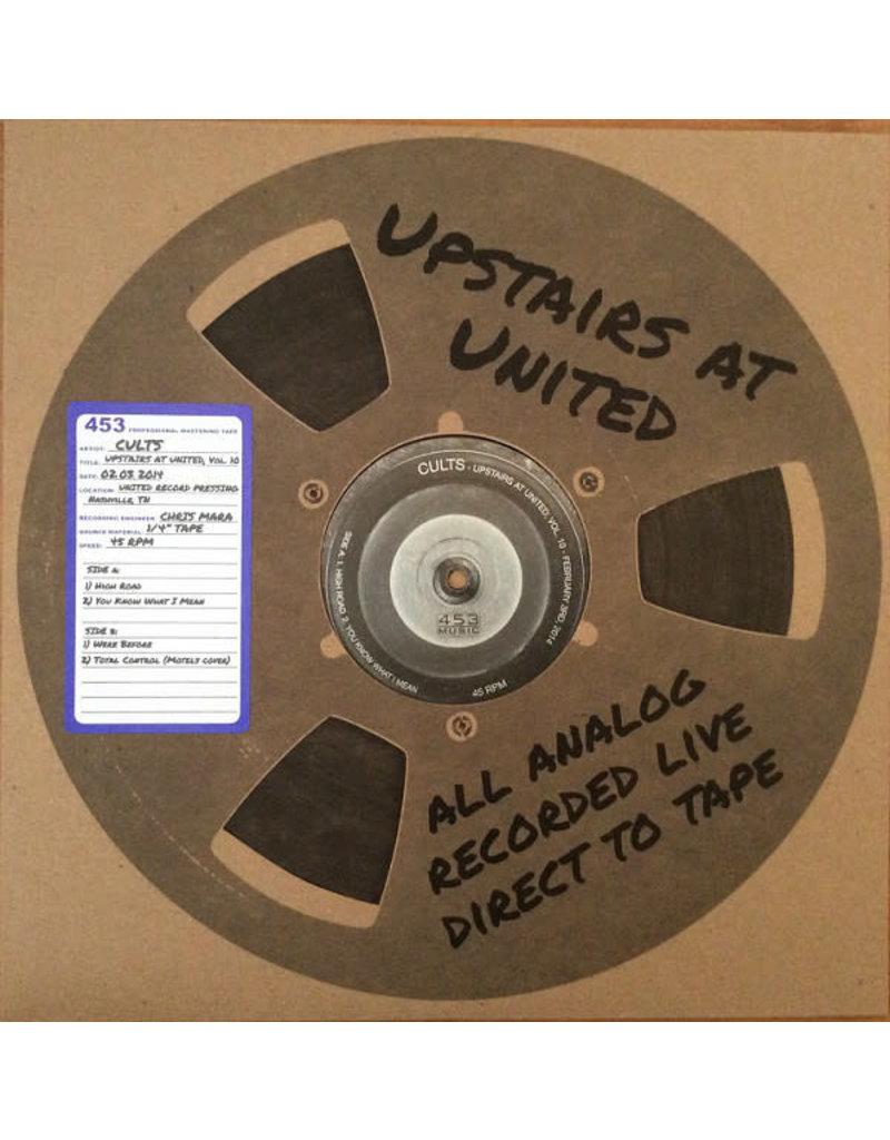 "RK Cults – Upstairs At United, Vol. 10 12"" (2014)"