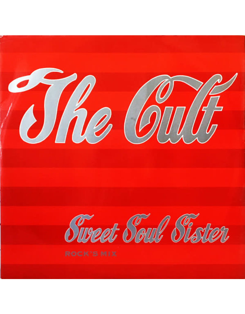 "RK THE CULT - SWEET SOUL SISTER 12"" LP"