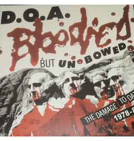 RK D.O.A. ‎– Bloodied But Unbowed LP