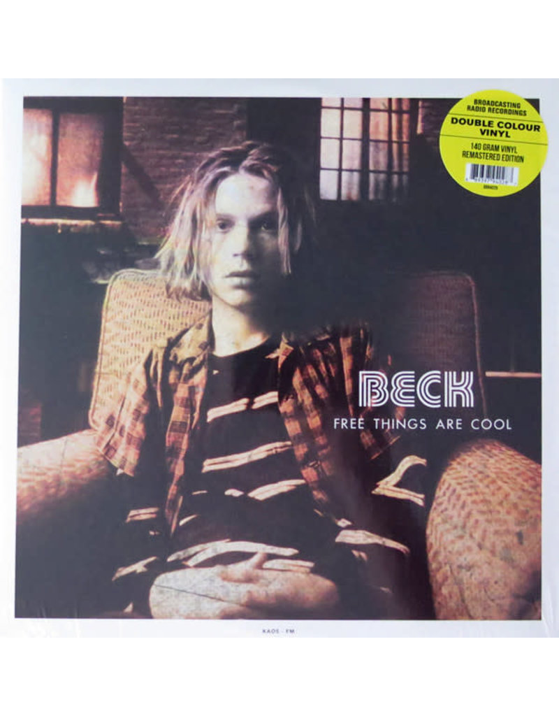 """RK Beck – Free Things Are Cool 12"""" (2015)"""