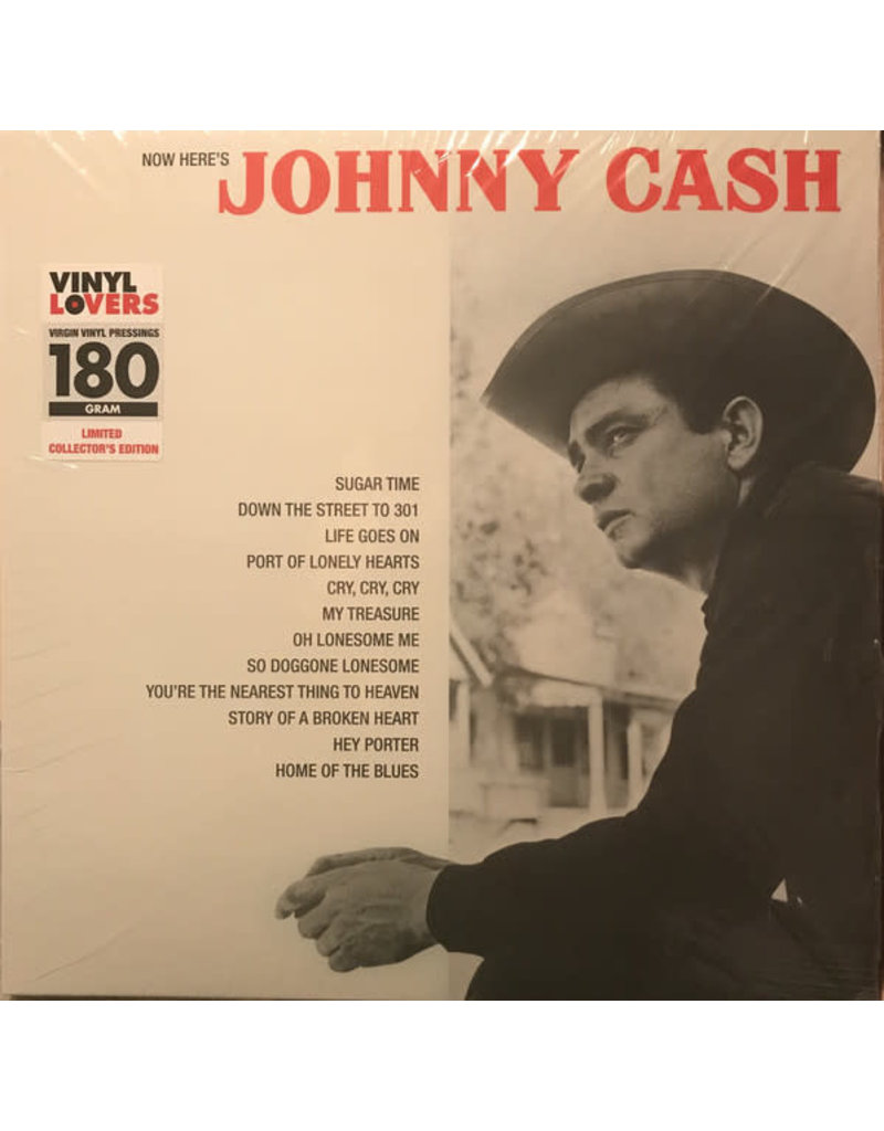 RK Johnny Cash ‎– Now Here's Johnny Cash LP