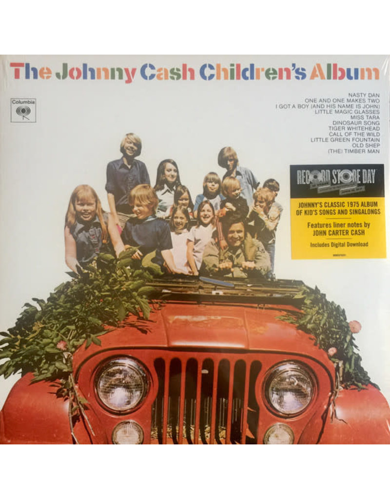CT Johnny Cash – The Johnny Cash Children's Album LP