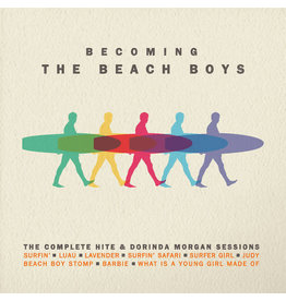 RK The Beach Boys ‎– Becoming The Beach Boys: Highlights From The Hite & Dorinda Morgan Sessions LP