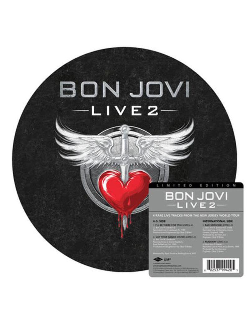 RK Bon Jovi - Live 2 [12'' EP] (Picture Disc)