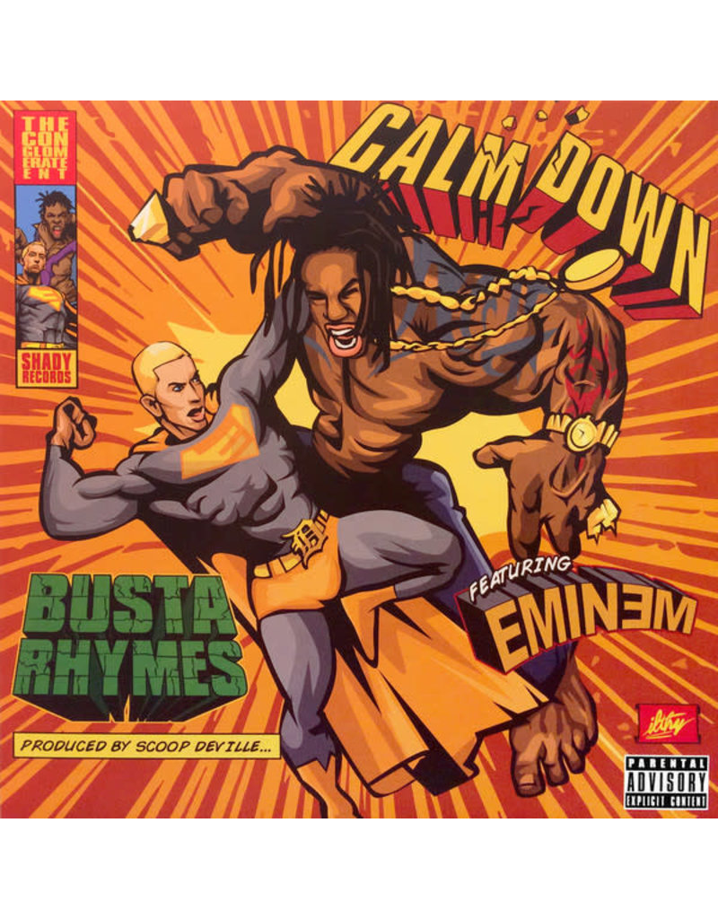 HH Busta Rhymes Featuring Eminem ‎– Calm Down 12""