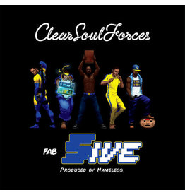 HH Clear Soul Forces - Fab Five (Produced by Nameless) (2XLP - Clear Vinyl)
