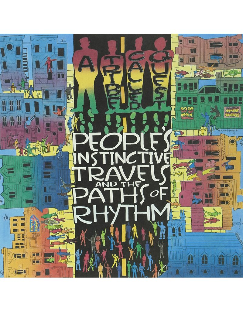 HH A Tribe Called Quest ‎– People's Instinctive Travels And The Paths Of Rhythm 2LP