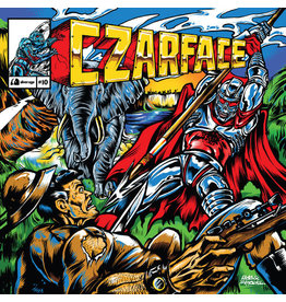HH Czarface – Double Dose Of Danger LP + Book