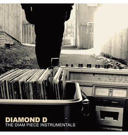HH Diamond D - The Diam Piece Instrumentals 2LP