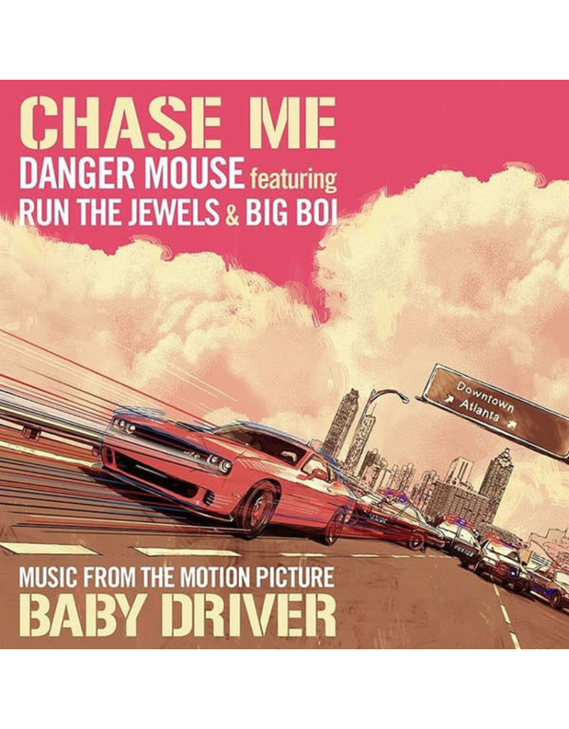 """HH Danger Mouse Featuring Run The Jewels & Big Boi – Chase Me (Music From The Motion Picture Baby Driver) 12"""""""