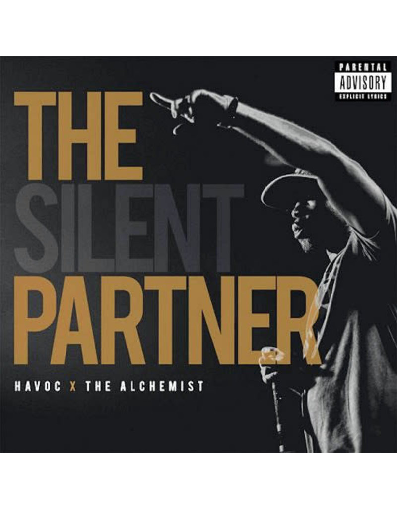 HH Havoc x The Alchemist - The Silent Partner (Gold Vinyl) 2LP